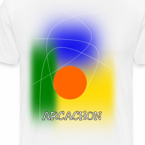 ARCACHON - Men's Premium T-Shirt