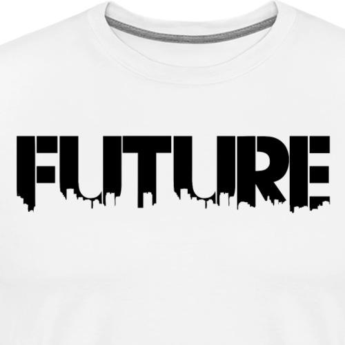 Future Black - Herre premium T-shirt