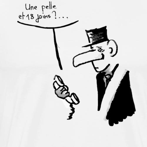 La pelle du 18 juin - T-shirt Premium Homme