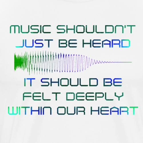 Feel it - Mannen Premium T-shirt