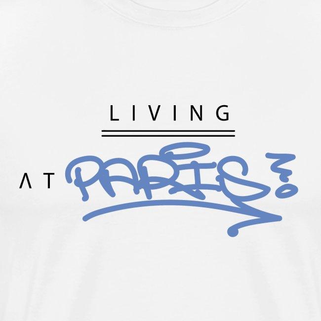 Living @ Paris street letters
