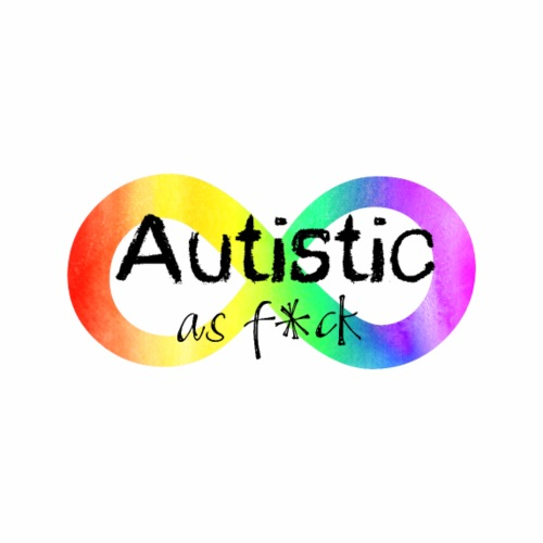 Autistic as Fuck - Men's Premium T-Shirt
