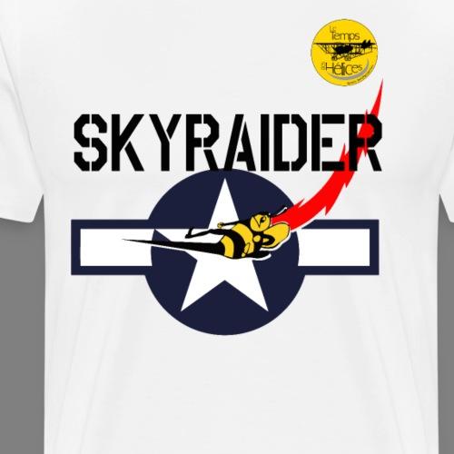 TDH19-PROFIL-COCARDE SKYRAIDER - T-shirt Premium Homme