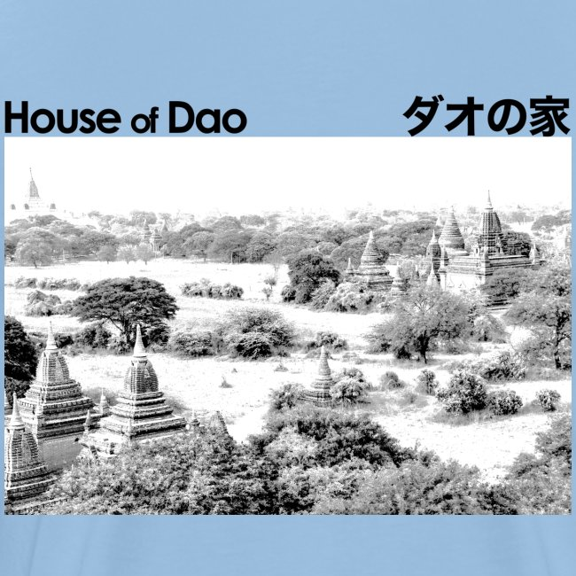 House of Dao - Temple BW
