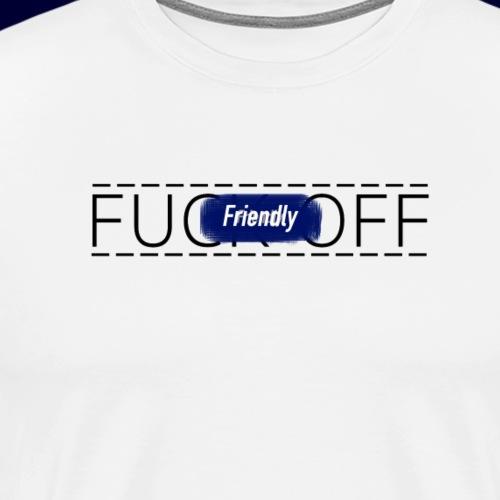 FRIENDLY FUCK OFF LOGO - Men's Premium T-Shirt