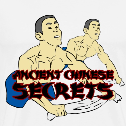 Ancient Chinese Secrets Towel Rows - Men's Premium T-Shirt