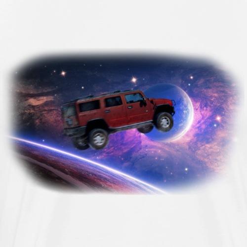 Hummer Rouge - T-shirt Premium Homme