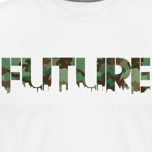 Future Jungle Camouflage - Herre premium T-shirt
