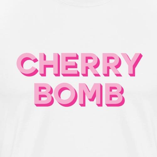 CHERRY BOMB Tee Shirts - Men's Premium T-Shirt