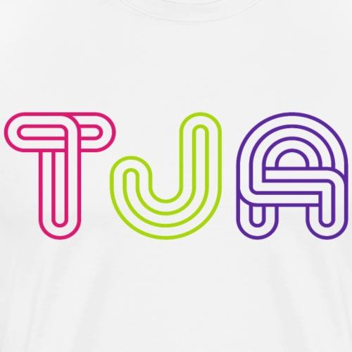 Tja, German Word - Men's Premium T-Shirt