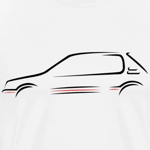 Esquisse 205 GTI - T-shirt Premium Homme