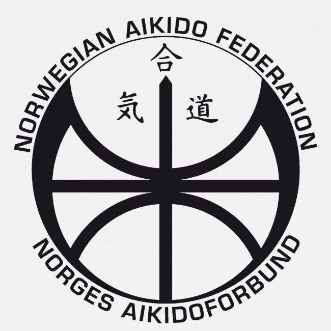 Svart NAF logo - liten