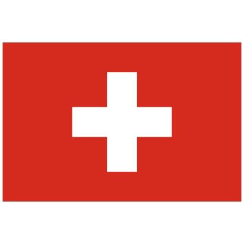 Bandera de Suiza - Camiseta premium hombre