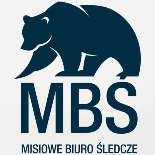 MBŚ - motyw ciemny - Koszulka męska Premium