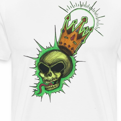 King of death by VWA - T-shirt Premium Homme