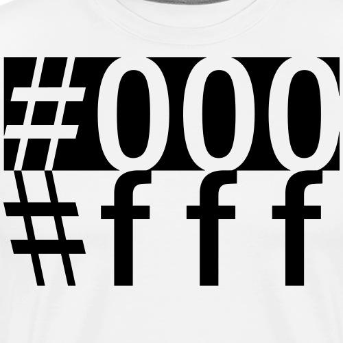 #000 & #fff