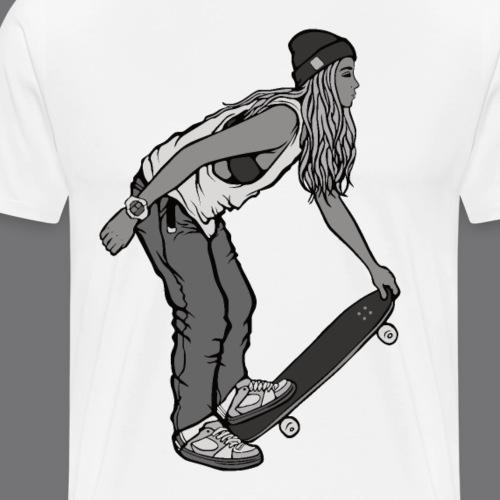 SKATEBOARDING Tee Shirt - Men's Premium T-Shirt