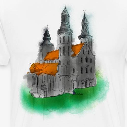 Domkyrkan By TheRawburt - Premium-T-shirt herr