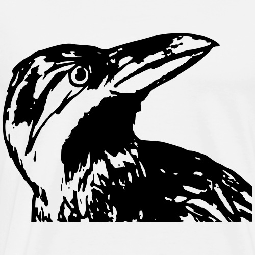 Raven - Miesten premium t-paita