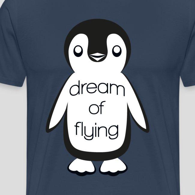 """""""Dream of Flying"""" Pinguin"""