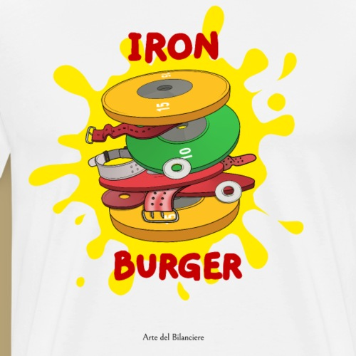 iron burger - Maglietta Premium da uomo