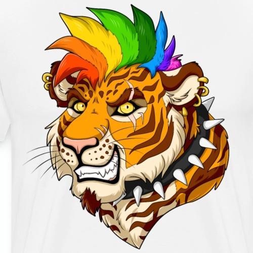 Punk Tiger - Men's Premium T-Shirt