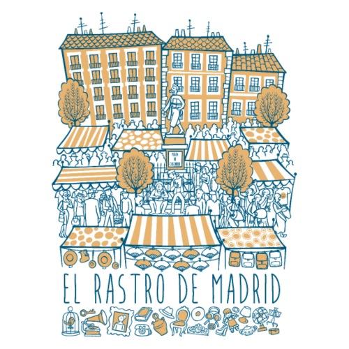 EL RASTRO DE MADRID - Camiseta premium hombre