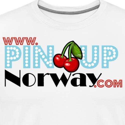 www.pinupnorway.com - Premium T-skjorte for menn
