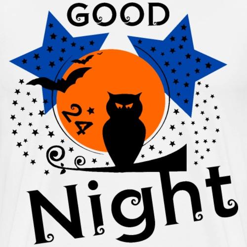 Good Night Theme - Männer Premium T-Shirt