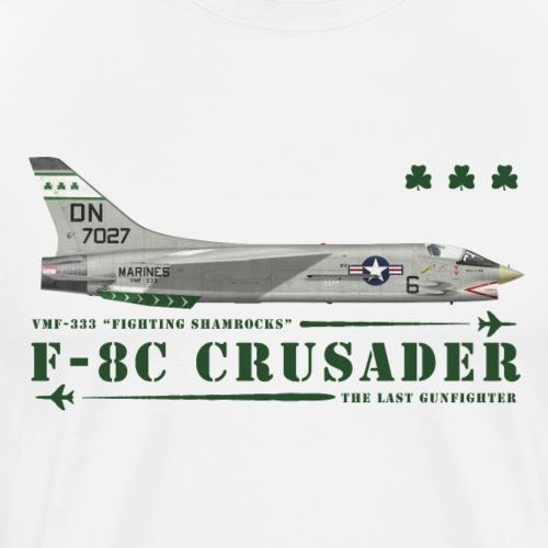 F-8C Crusader VMF-333 - Men's Premium T-Shirt