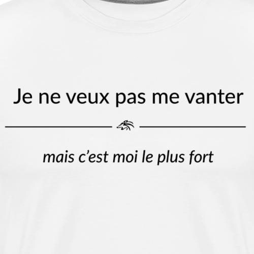 jeneveuxpasmevanter - T-shirt Premium Homme