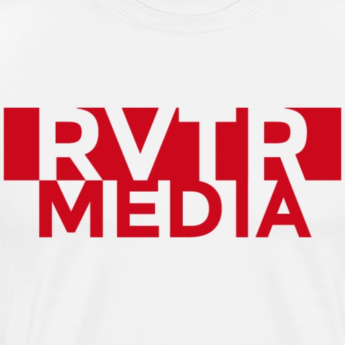 RVTR media red - Männer Premium T-Shirt