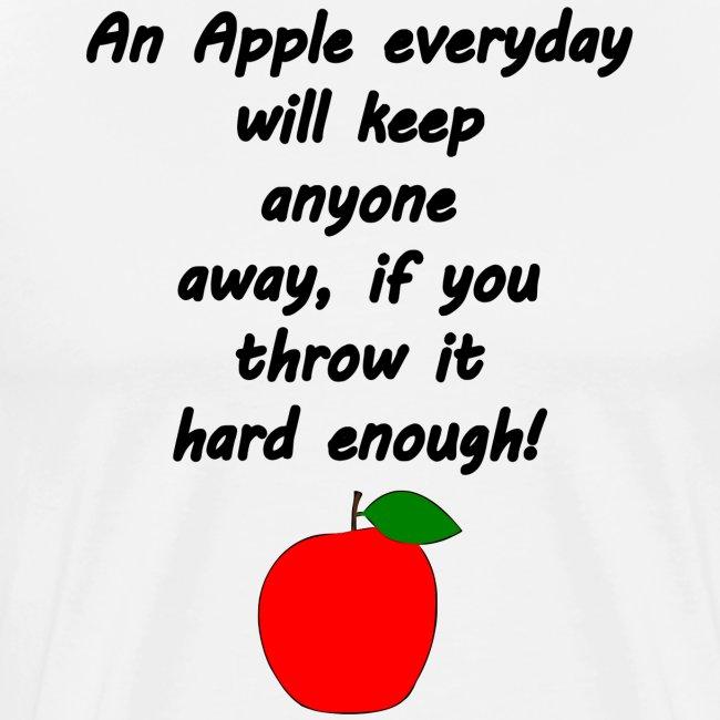 Lustiger Apfelspruch