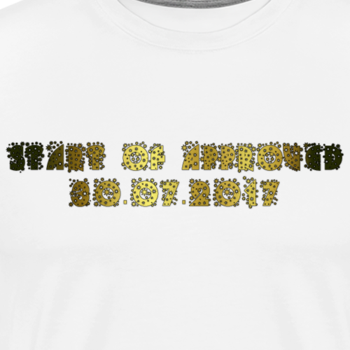 THE START OF APPROVED 30.07.2017 - Men's Premium T-Shirt