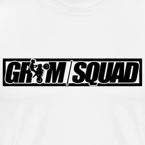 GROM SQUAD / BORDER - Men's Premium T-Shirt