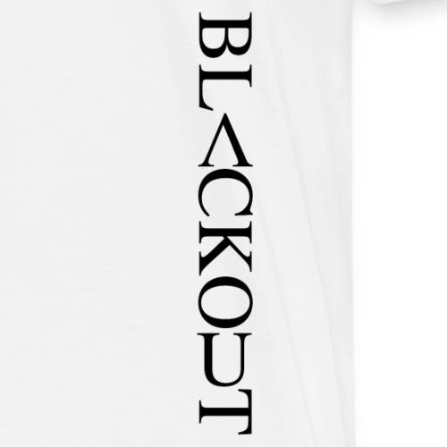 Blackout Side - Premium-T-shirt herr