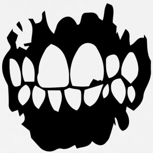 Clean Teeth - Premium-T-shirt herr
