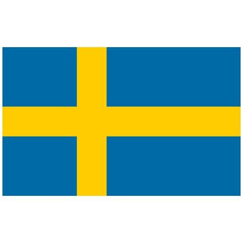 Bandera de Suecia - Camiseta premium hombre
