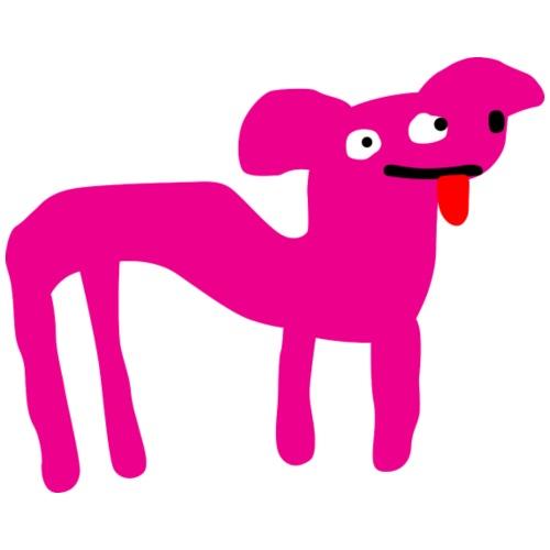 Clean version - pink doglike creature - Men's Premium T-Shirt