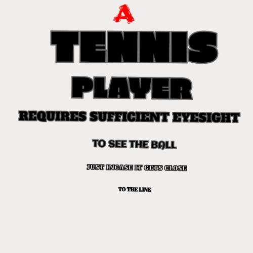 TENNIS EYE TEST - Men's Premium T-Shirt