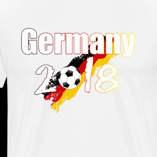 Football Germany 2018 - Männer Premium T-Shirt