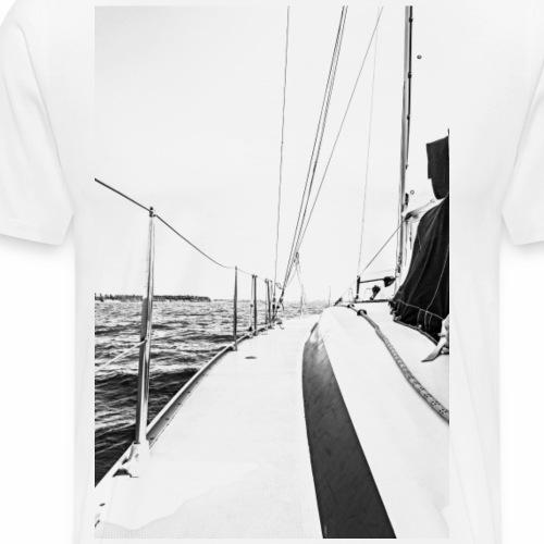 Yachtcharter Bild Sonder Edition - Männer Premium T-Shirt