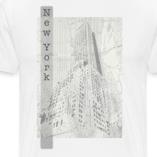 New York - Premium-T-shirt herr