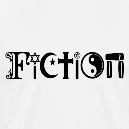 Fiction Schwarz - Männer Premium T-Shirt