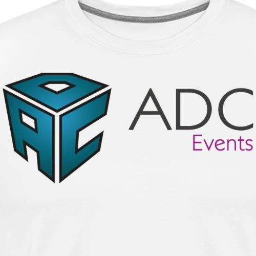 logo adc events cmjn - T-shirt Premium Homme