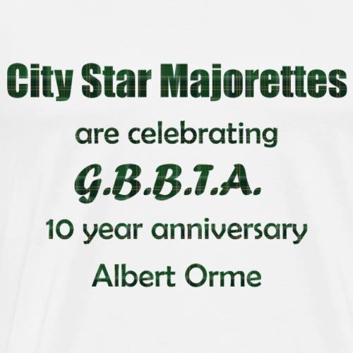 GBBTA 10YR - Men's Premium T-Shirt