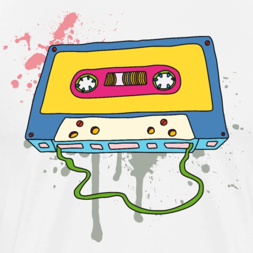 Musik Kassette Walkman Magnettonband Retro Vintage - Men's Premium T-Shirt