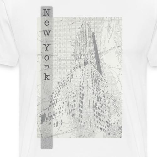 New York - Mannen Premium T-shirt
