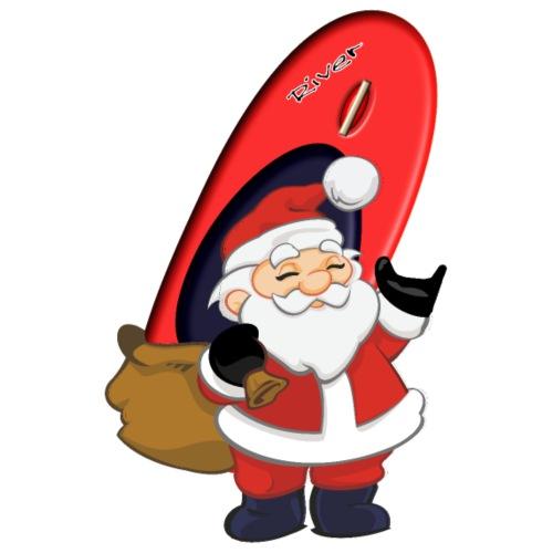 Santa Playboat - Männer Premium T-Shirt
