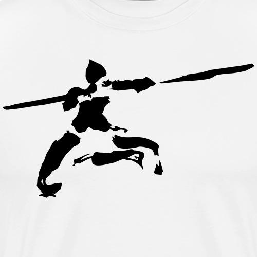 kungfu real ink - Men's Premium T-Shirt